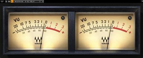vu meter plugin waves