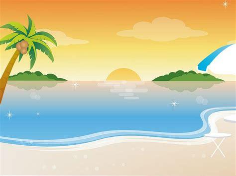 Tropical Beach Vector Illustration 1600*1200 19