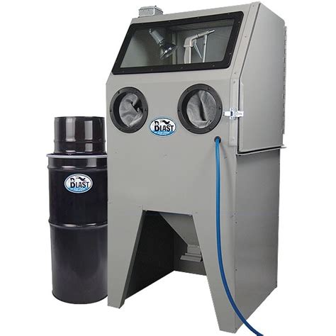 usa skat cat 28 abrasive blast cabinet with vac 50 vacuum