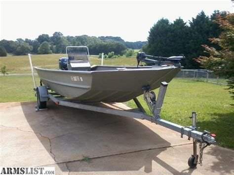 Local Jon Boats For Sale by Armslist For Sale 20ft Seaark Jon Boat