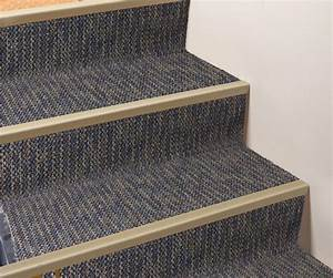 Stair nosing for carpet meze blog for Plastic floor carpet designs