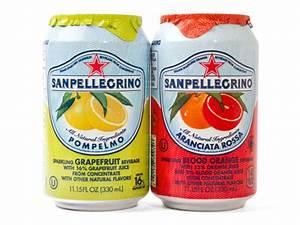 Soda'Pompelmo' and 'Aranciata Rossa' from San Pellegrino