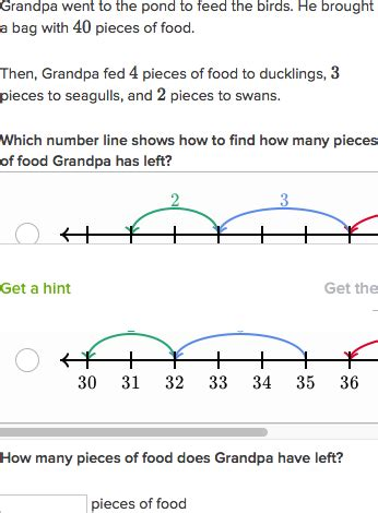 grade math worksheets number lines