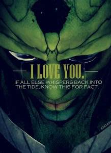 Thane Krios ~Ma... Paragon Of Beauty Quotes
