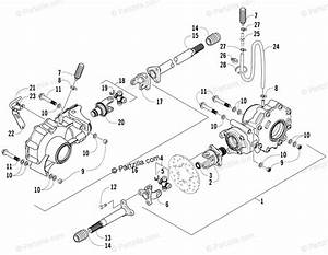 Arctic Cat Side By Side 2006 Oem Parts Diagram For Drive