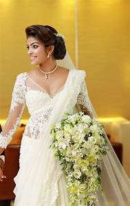 1000+ images about white wedding sarees on Pinterest ...