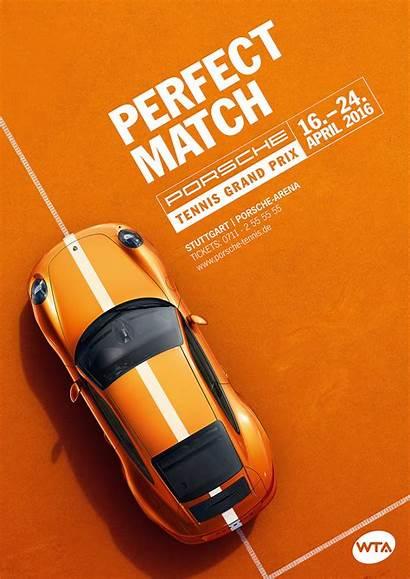 Tennis Porsche Prix Grand Graphic Poster Posters