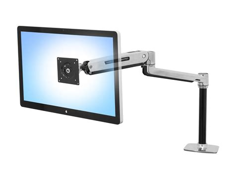 Lx Desk Mount Lcd Arm by Ergotron Lx Sit Stand Desk Mount Lcd Arm Radius Office
