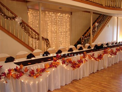 I Need Fall Head Table Ideas Cafemom