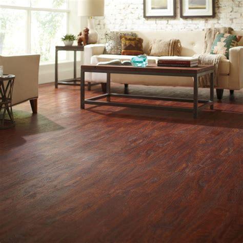 6 x 36 vinyl plank flooring trafficmaster 6 in x 36 in cherry luxury vinyl plank flooring 24 sq ft 12012