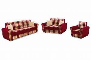 Couchgarnitur 3 2 1 Mit Schlaffunktion : seher mobilya garnitur 3 2 1 aksaya mit relax und schlaffunktion rot mit federkern sofas ~ Indierocktalk.com Haus und Dekorationen