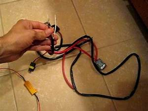 50w Resistor Wiring To Relay Or Hid Kit Wires Carhidkit