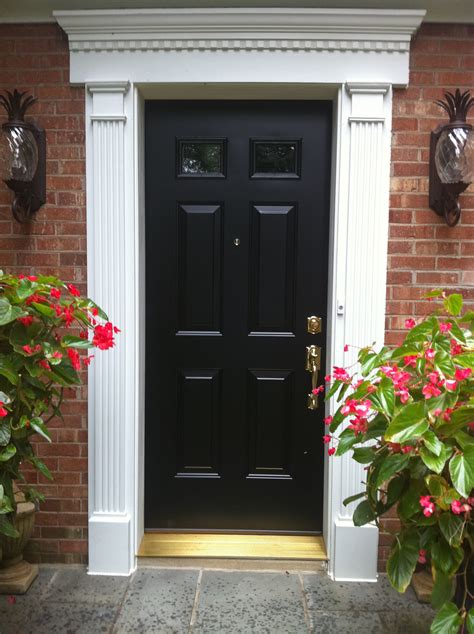 ideas about exterior door trim trims with outdoor light