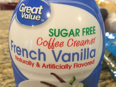Does too much coffee make you gain weight? Coffee Mate Sugar Free French Vanilla Creamer Nutrition Facts - NutritionWalls