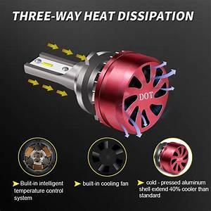 Turbo Sii Led Headlight Bulb For Dodge Ram 1500 2009