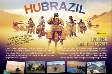 Horizons Unlimited Travelers Meeting Brazil