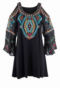 Vintage Collection Happiness Tunic Top Pinto Ranch