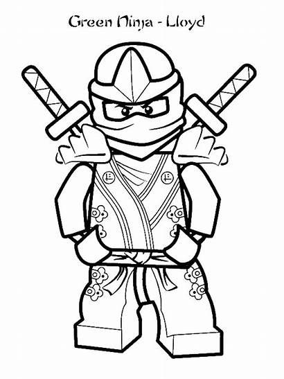 Coloring Ninja Lloyd Gamer Years Grim Colored