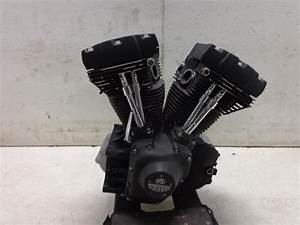 02 Harley Davidson Softail 1450 88 Twin Cam Engine Motor