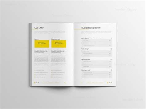 Bi Fold Brochure Design Templates by Indd Business Bi Fold Brochure Design Template