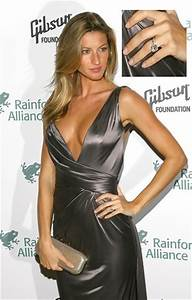 Gisele Bundchen - Celebrity Engagement Rings - StyleBistro