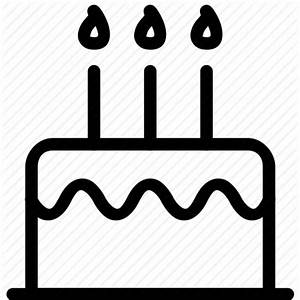 Anniversary, birthday, cake, dessert, party icon   Icon ...