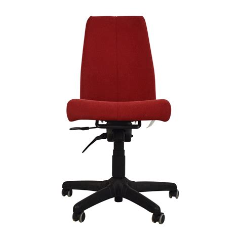 modern grey office chair with chrome wheels on sale