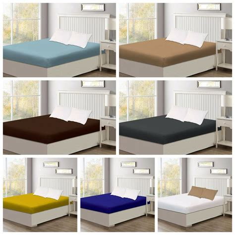 400 thread count soft pockets fitted sheet