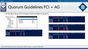 Alwayson Failover Cluster E Availability Group Em Um