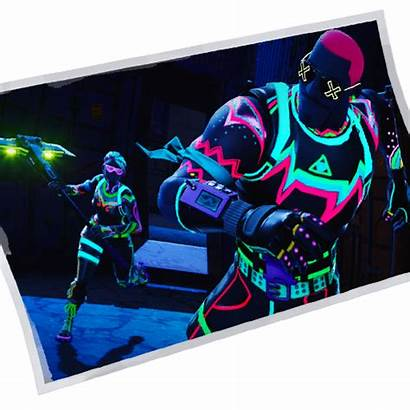 Fortnite Neon Glow Loading Screen Transparent Icon