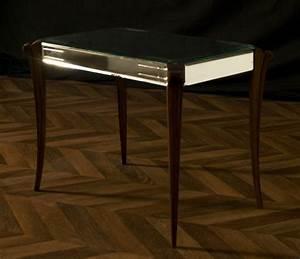 Table Basse Miroir : table basse vintage 1940 ann es 40 pi ce unique esprit ~ Melissatoandfro.com Idées de Décoration