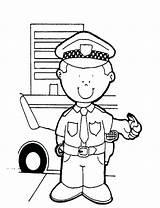 Police Badge Coloring Officer Printable Getcolorings sketch template