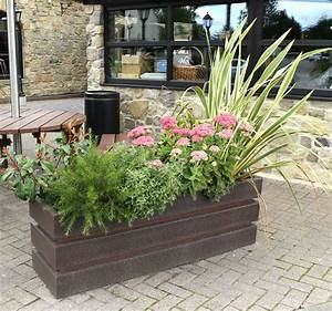 Recycled, Plastic, Planters