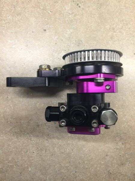 rons injection billet fuel pump   shut  drive kit