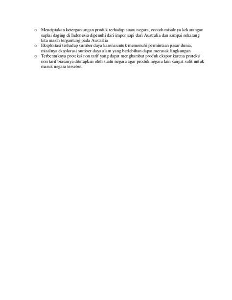 Analisis jurnal ilmiah perdagangan internasional sektor
