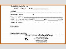 11+ printable doctors notes for missing work Lease Template