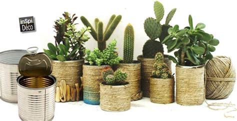 diy des petits vases de fleurs avec des bo 238 tes de conserves 20 id 233 es