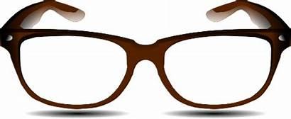 Glasses Clipart Brown Clip Printable Clipartbest Transparent