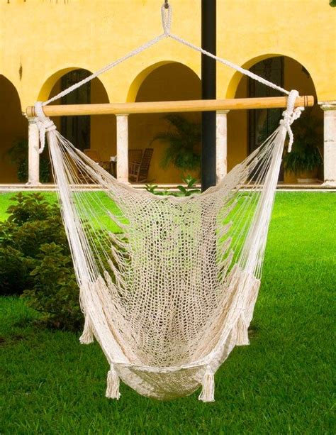Cotton Hammock Chair by X Large Mexican Hammock Chair Cotton Heavenly
