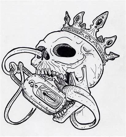 Lock Key Tattoo Skull Tattoos Drawings Sketches
