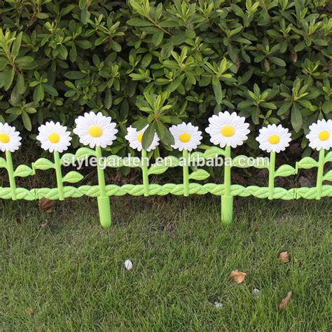 decorative border economic diy daisies garden fence buy