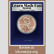 Want Your Kids To Learn Math Fast And Well?  I Choose Joy