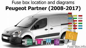 Fuse Box Location And Diagrams  Peugeot Partner  2008