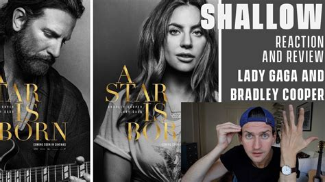 Bradley Cooper And Lady Gaga  Shallow  Reaction And Review (a Star Is Born) Youtube