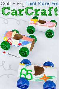 Craft and Play: Toilet Paper Roll Car Craft -   Pinterest ...