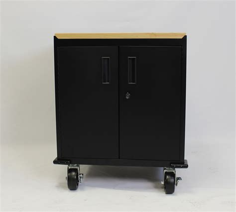 door black modular base storage cabinet