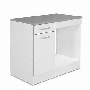 Meuble Bas Four Plaque : meuble de cuisine four encastrable cuisine en image ~ Teatrodelosmanantiales.com Idées de Décoration