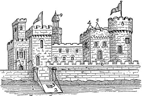 free castle clip clipartix