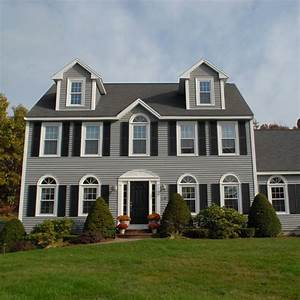 House Style Palettenkissen : beautiful colonial style home with newpro siding windows ~ Articles-book.com Haus und Dekorationen