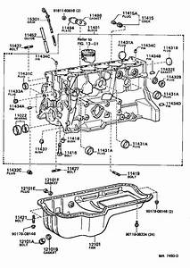 Toyota Cressida Engine Expansion Plug